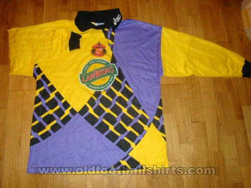 Sunderland Goalkeeper football shirt 1997 - 1999