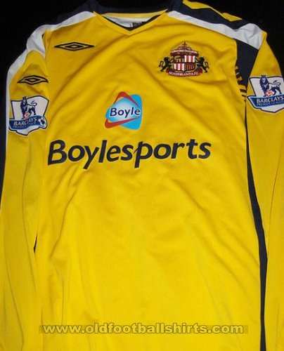 Sunderland Goalkeeper football shirt 2007 - 2008