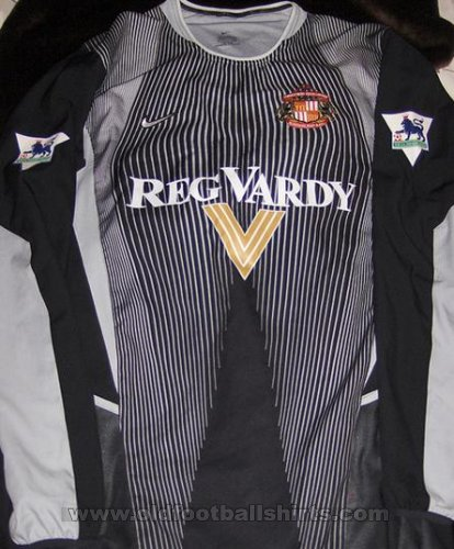 Sunderland Goalkeeper football shirt 2002 - 2003