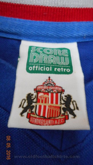 Sunderland Retro Replicas football shirt 1978 - 1979
