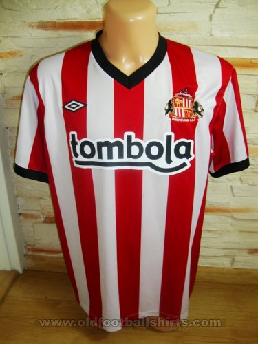 Sunderland Home football shirt 2011 - 2012