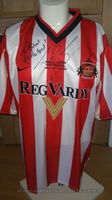 Sunderland Special football shirt 2002