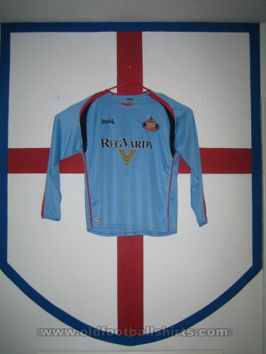 Sunderland Goalkeeper football shirt 2006 - 2007