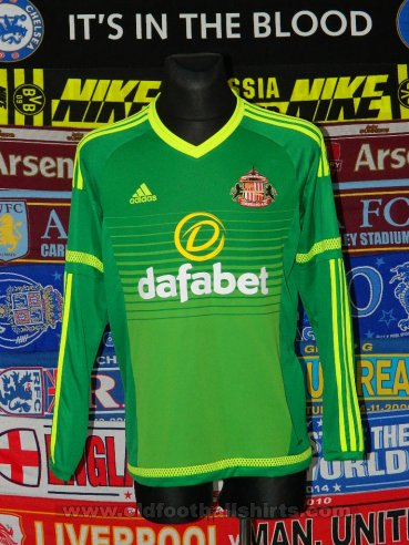 Sunderland Away football shirt 2015 - 2016