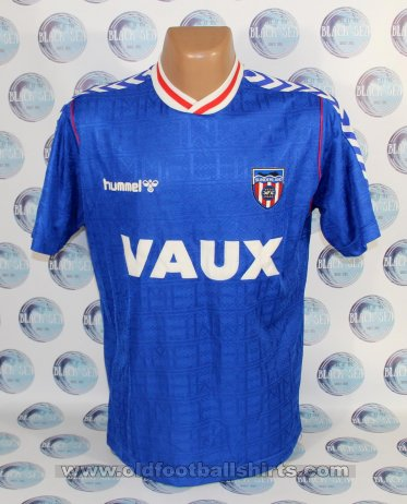 Sunderland Away football shirt 1988 - 1991