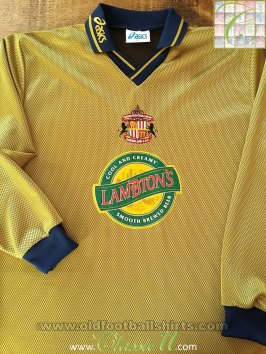 Sunderland Away football shirt 1997 - 1999