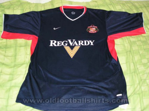 Sunderland Away football shirt 2003 - 2004