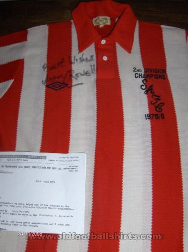 Sunderland Home football shirt 1976 - 1977