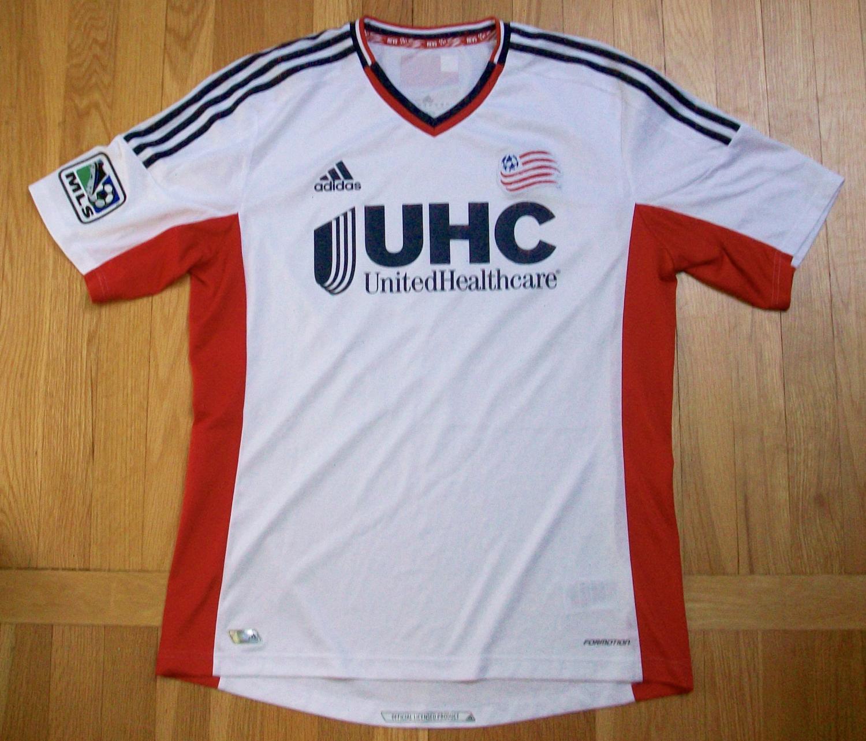 pretty nice db95b 507a0 New England Revolution Away maglia di calcio 2014.