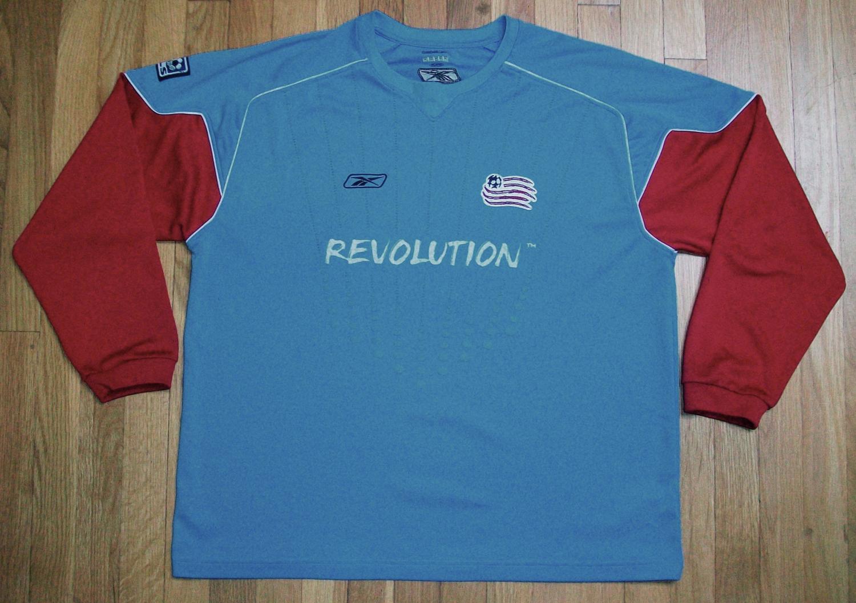 new arrival cb6da 604b1 New England Revolution Goalkeeper football shirt 2004.