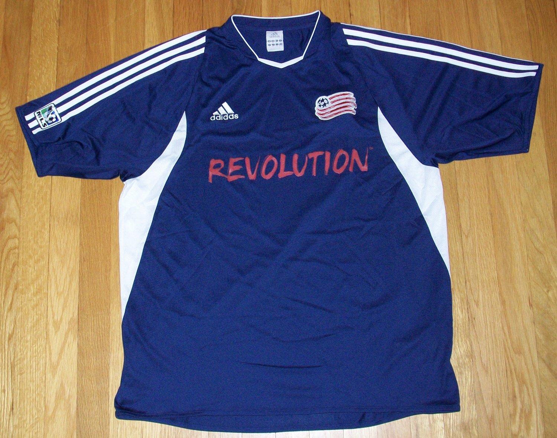 official photos a73f6 fbe41 New England Revolution Home football shirt 2005.