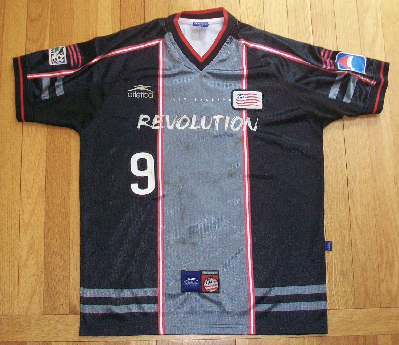 brand new 7d770 cf455 New England Revolution Third maglia di calcio 2000.