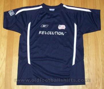 New England Revolution Home baju bolasepak 2004