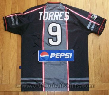 New England Revolution Third baju bolasepak 2000