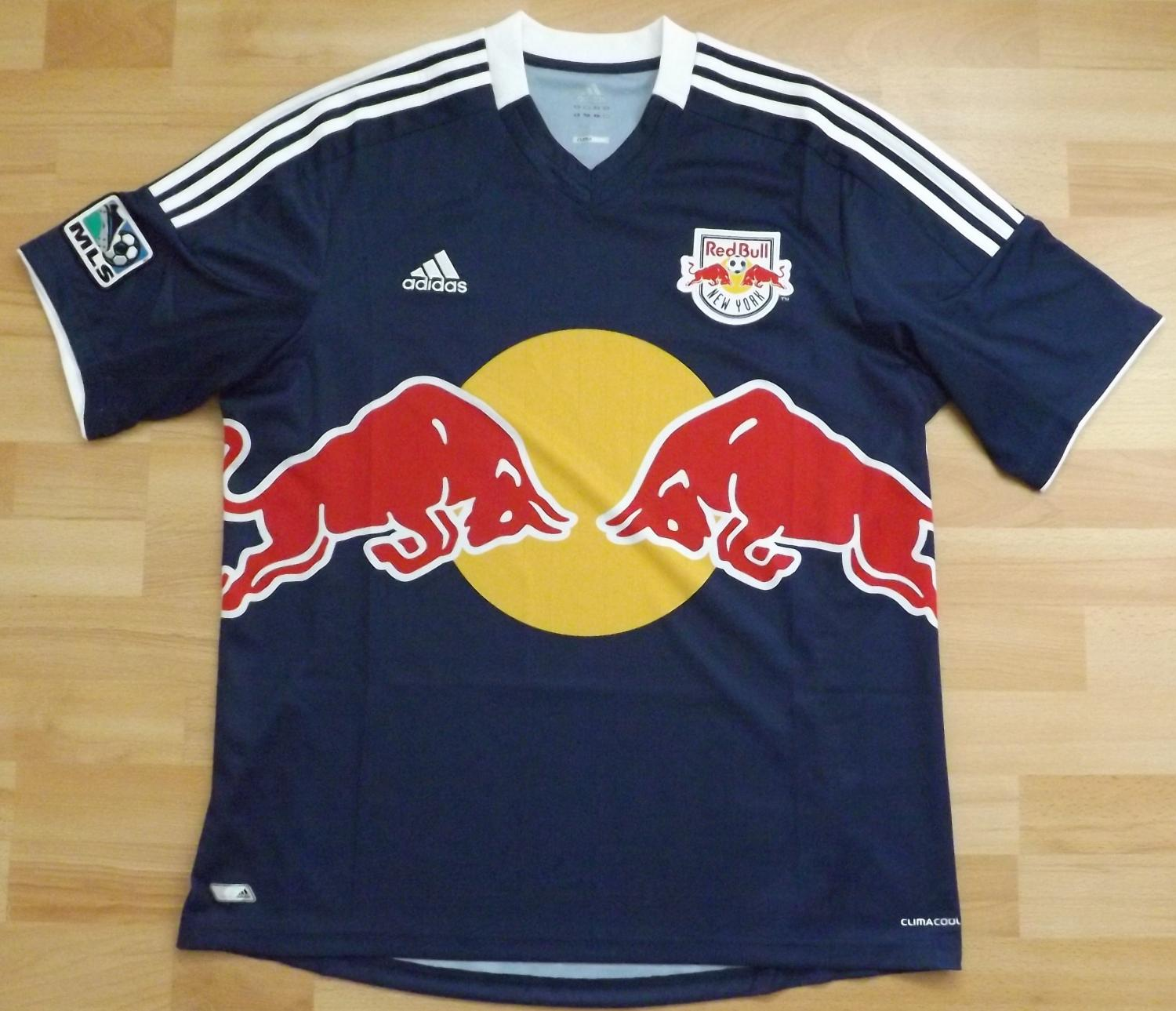 3bad32783 New York Red Bulls Away camisa de futebol 2012 - 2014.