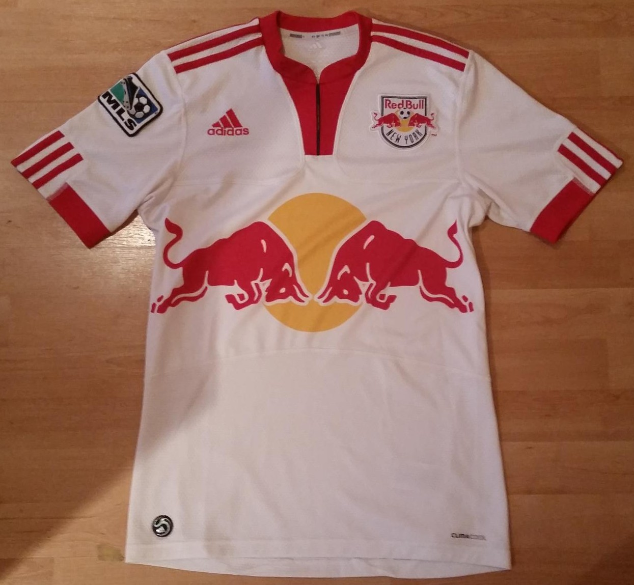 d23ca851f New York Red Bulls Home camisa de futebol 2009 - 2011.