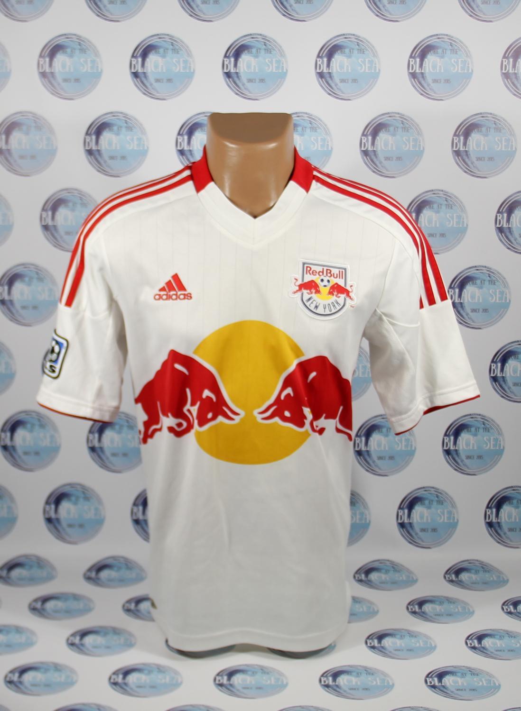 cd73022273a New York Red Bulls Home camisa de futebol 2012 - 2013.