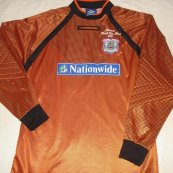 Goalkeeper football shirt 2000