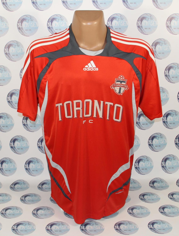 10e1a5262 Toronto FC Home camisa de futebol 2007 - 2008.