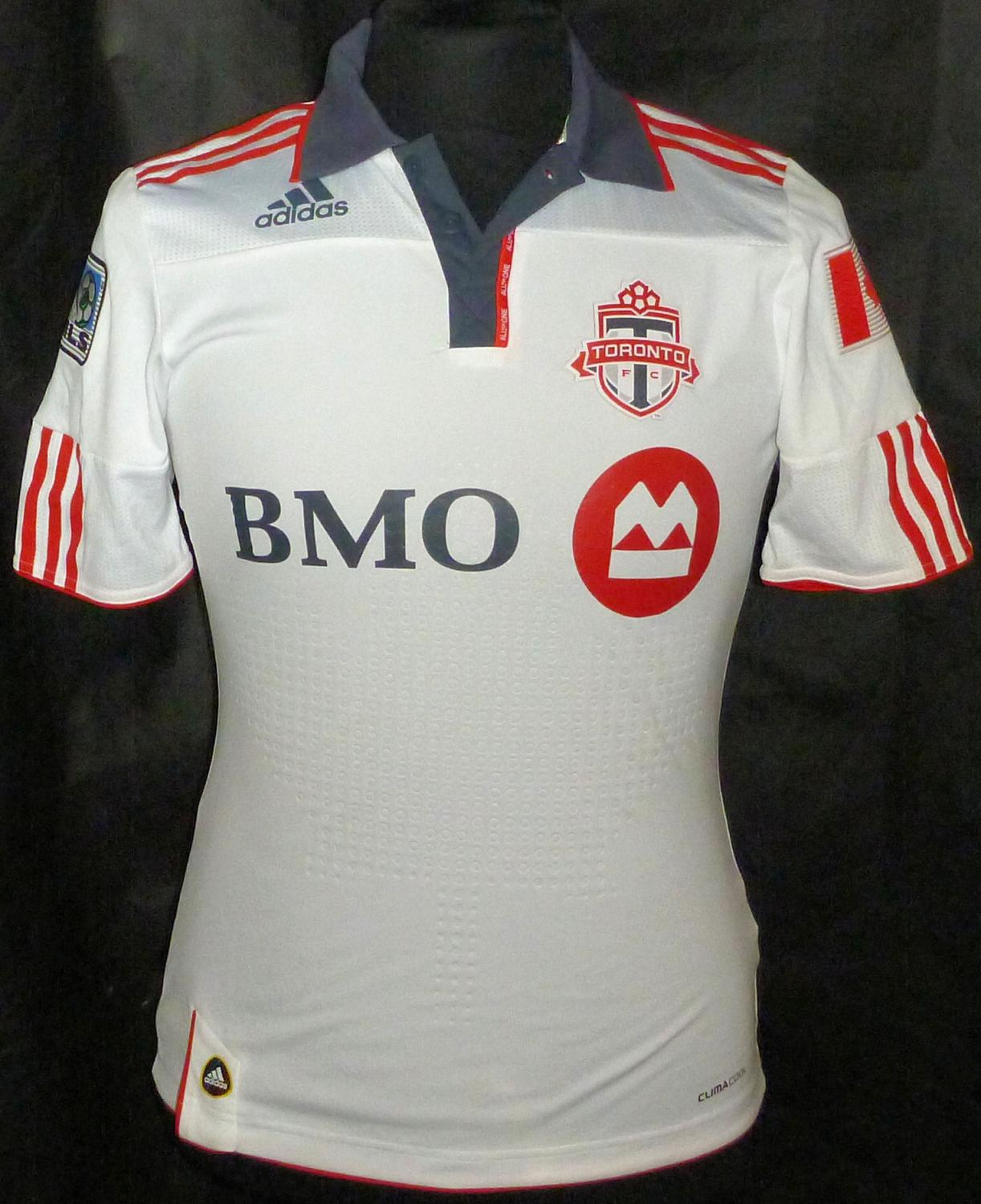 new styles 9f625 65be0 Toronto FC Away Camiseta de Fútbol 2012 - 2013.