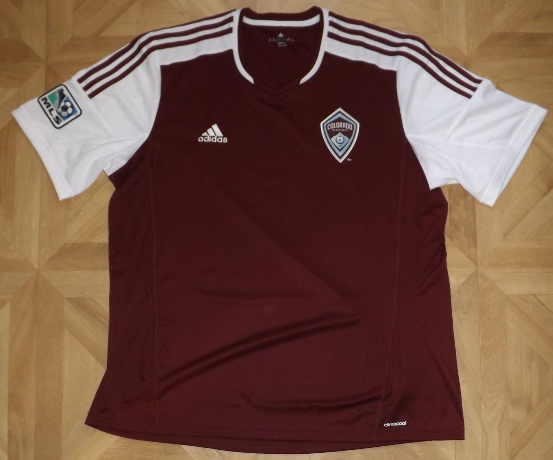 Colorado Rapids Away camisa de futebol 2014 - 2016. 2c460437b