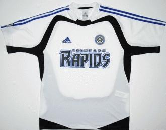Colorado Rapids Home camisa de futebol 2005 - 2006. 8303f7102