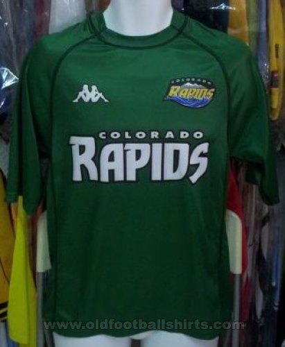Colorado Rapids Away baju bolasepak 2001 - 2002
