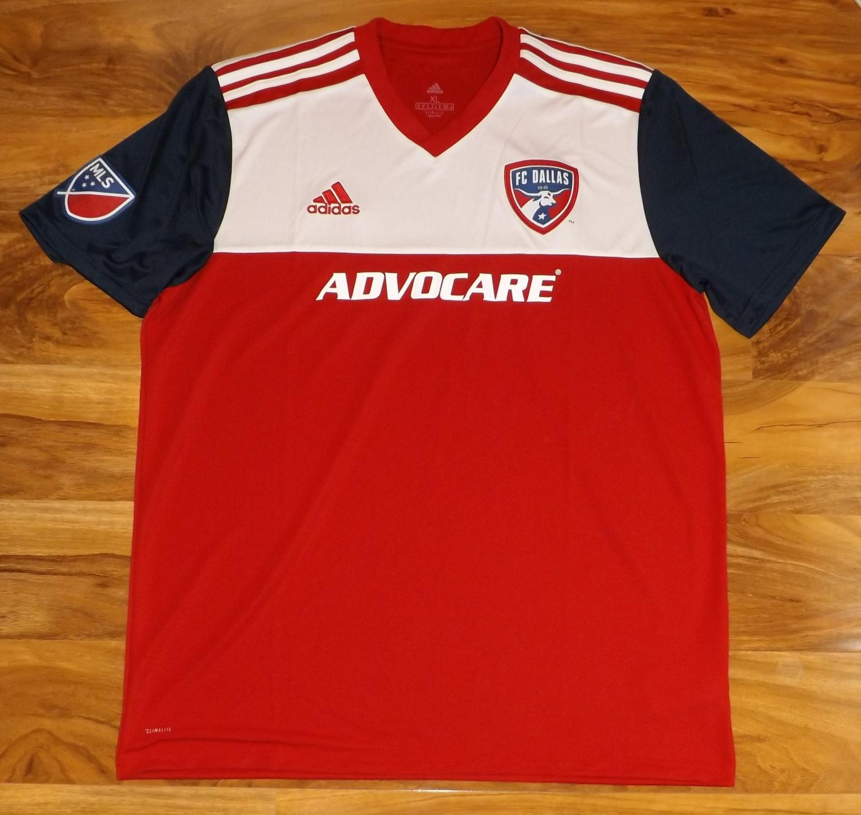 huge discount 60170 1d755 Nova Temporada FC Dallas Home camisa de futebol 2018 - 2020.