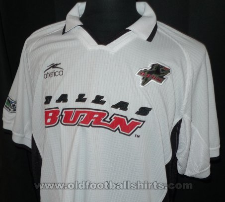 FC Dallas Home voetbalshirt  2001 - 2002