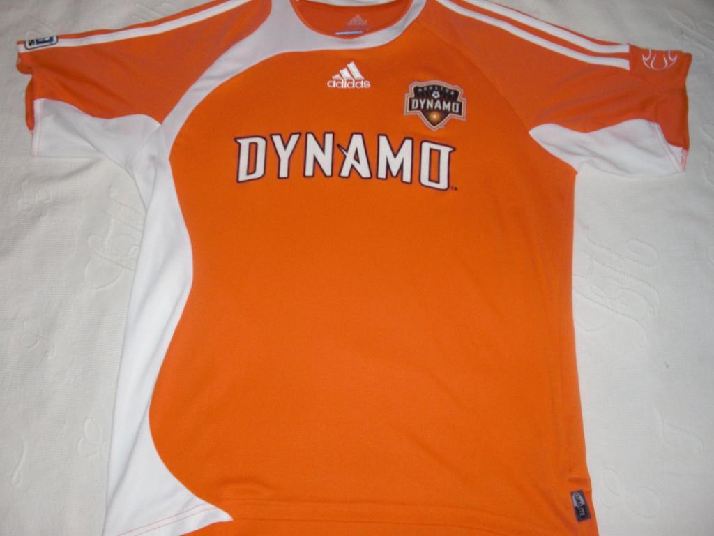 online store e4c1f eb186 Houston Dynamo Home football shirt 2007.