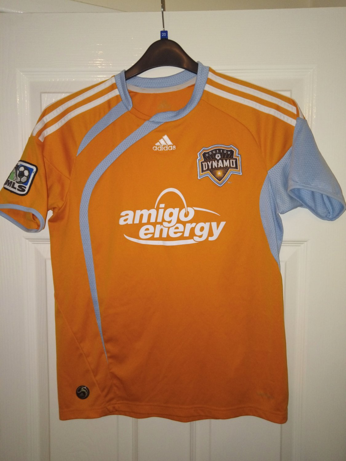 online store 6a0f9 ca804 Houston Dynamo Home Maillot de foot 2009 - 2010.