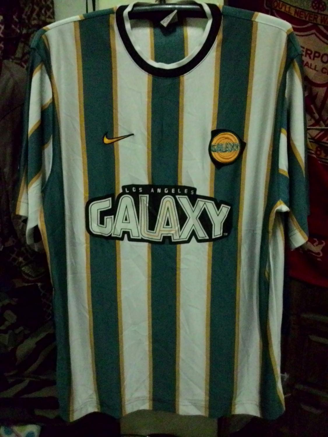 4fd600c11dc96 Los Angeles Galaxy Away camisa de futebol 1997 - 1998.
