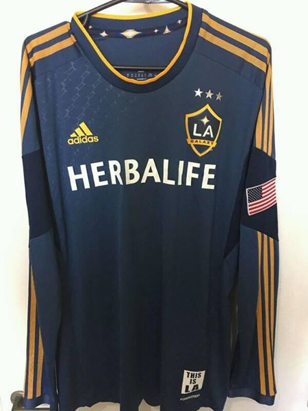 hot sales 71b9e 8b130 Los Angeles Galaxy Away football shirt 2013 - 2014