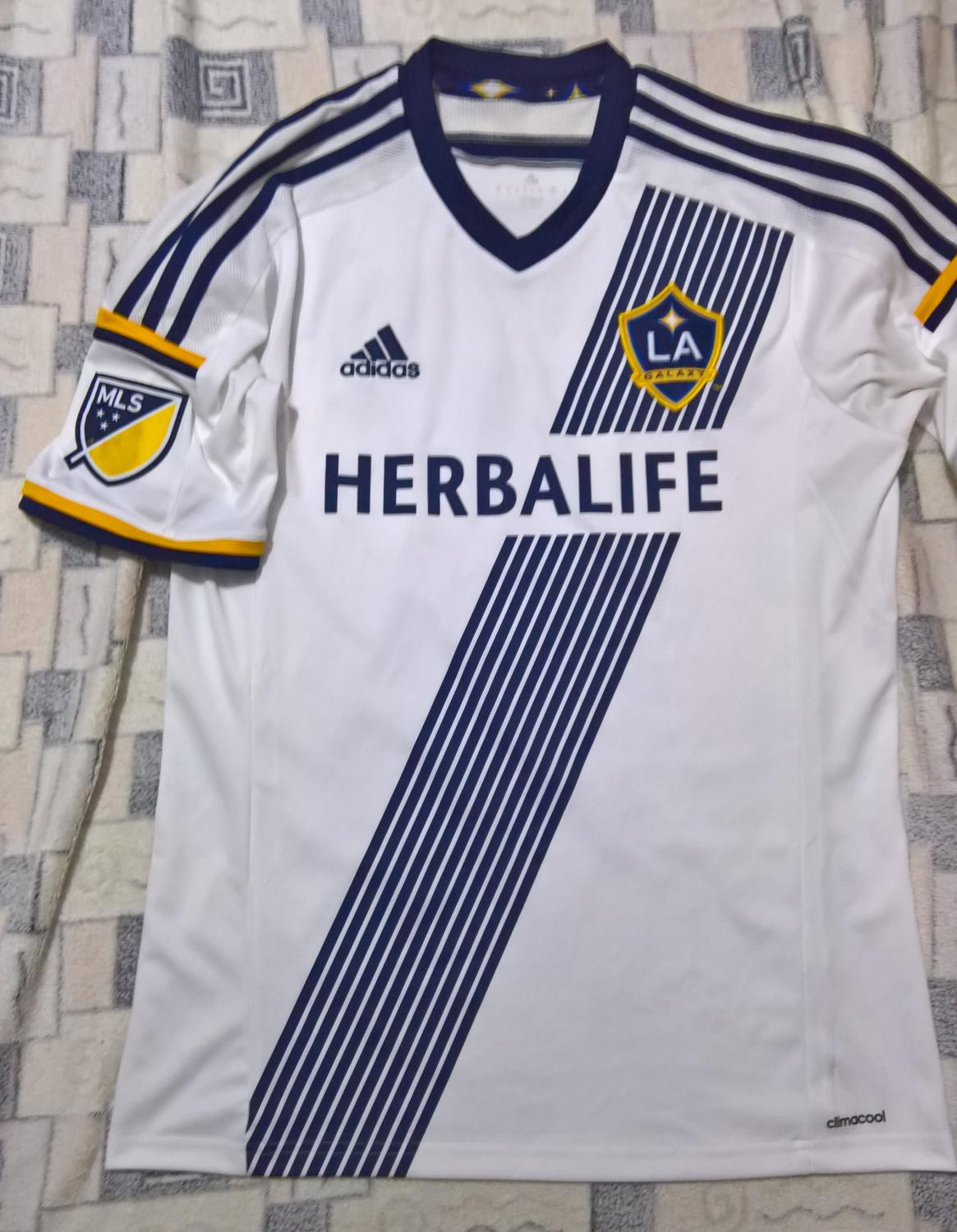 7e77487332aeb Los Angeles Galaxy Home camisa de futebol 2015 - 2016.