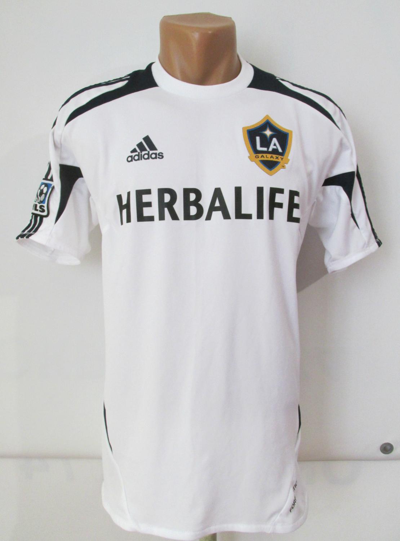 269919c74 Los Angeles Galaxy Training Leisure maglia di calcio 2011 - 2012.