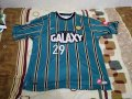 Los Angeles Galaxy Home חולצת כדורגל 1997 - 1998