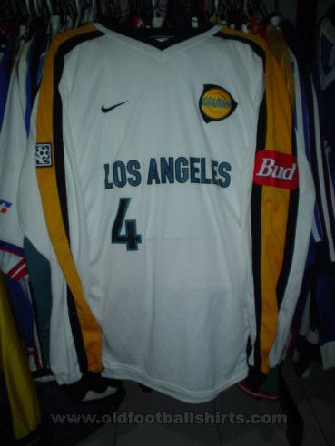 Los Angeles Galaxy Away voetbalshirt  2000 - 2002