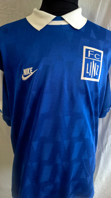 Fc Blau Weiss Linz Home Football Shirt 1996 1997