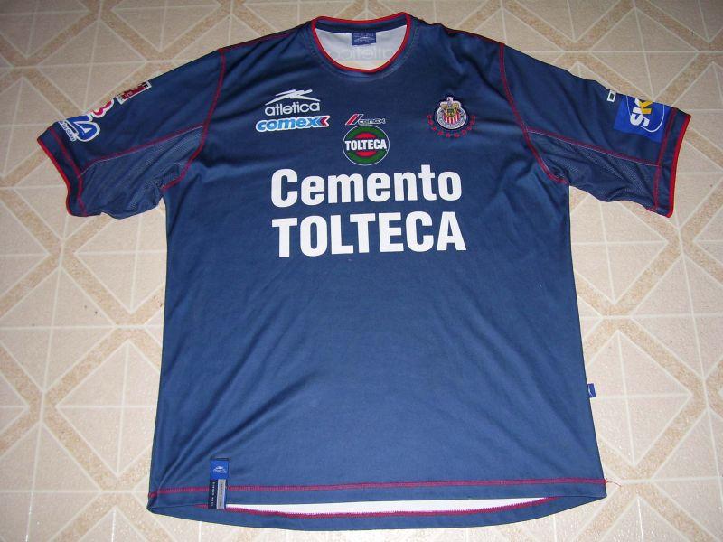 8b4b8a5b49d Chivas de Guadalajara Away maglia di calcio 2002 - 2003.