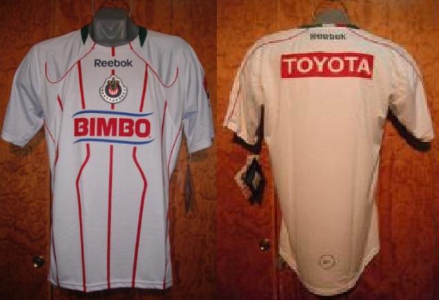 ce812146153 Chivas de Guadalajara Away Maillot de foot 2010 - 2011.