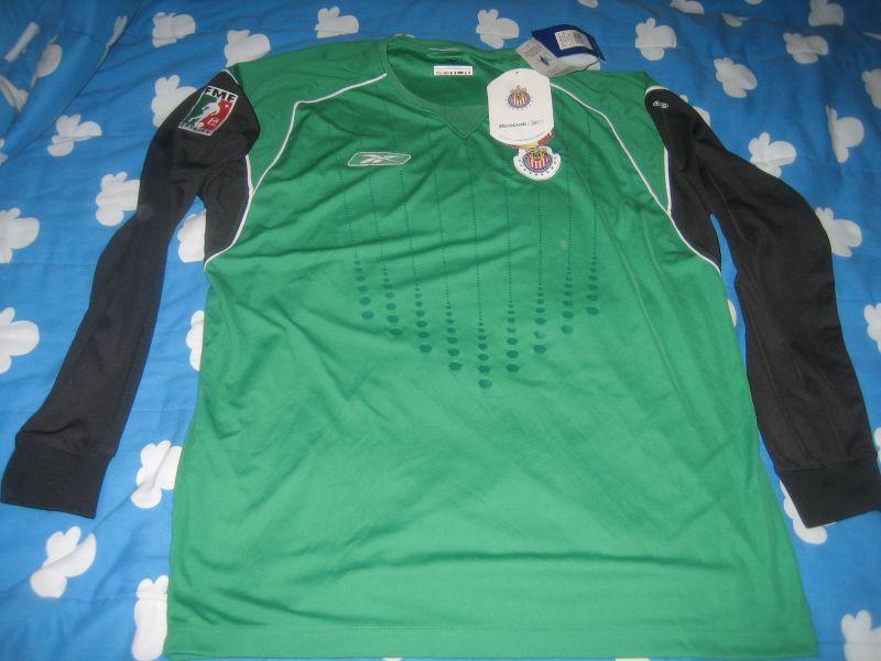 san francisco 91c09 f4e5b Chivas de Guadalajara Goalkeeper football shirt 2004.
