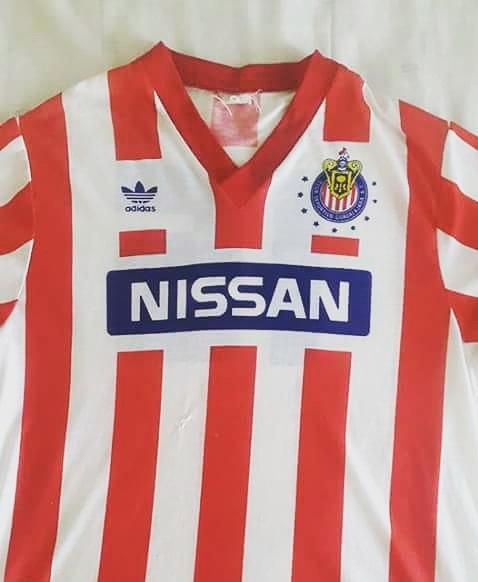 promo code f7989 3b1b4 Chivas de Guadalajara Home football shirt 1990 - 1991.
