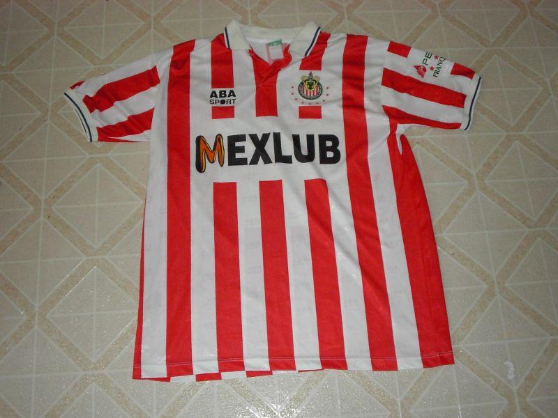 48a94302f Chivas de Guadalajara Home camisa de futebol 1993 - 1994.
