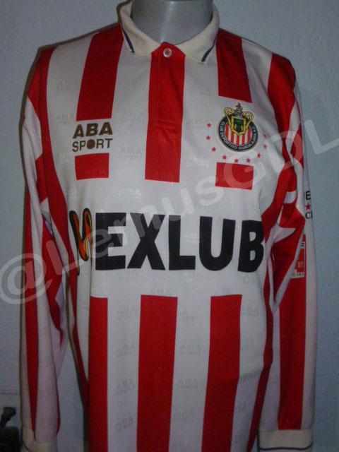 be5cf0eae8b Chivas de Guadalajara Home maglia di calcio 1995 - 1996.