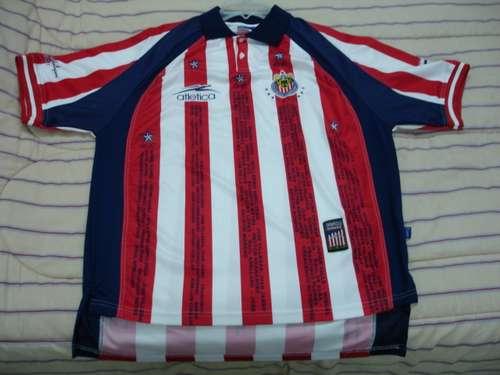 dade82189a7 Chivas de Guadalajara Home football shirt 2002 - 2003.