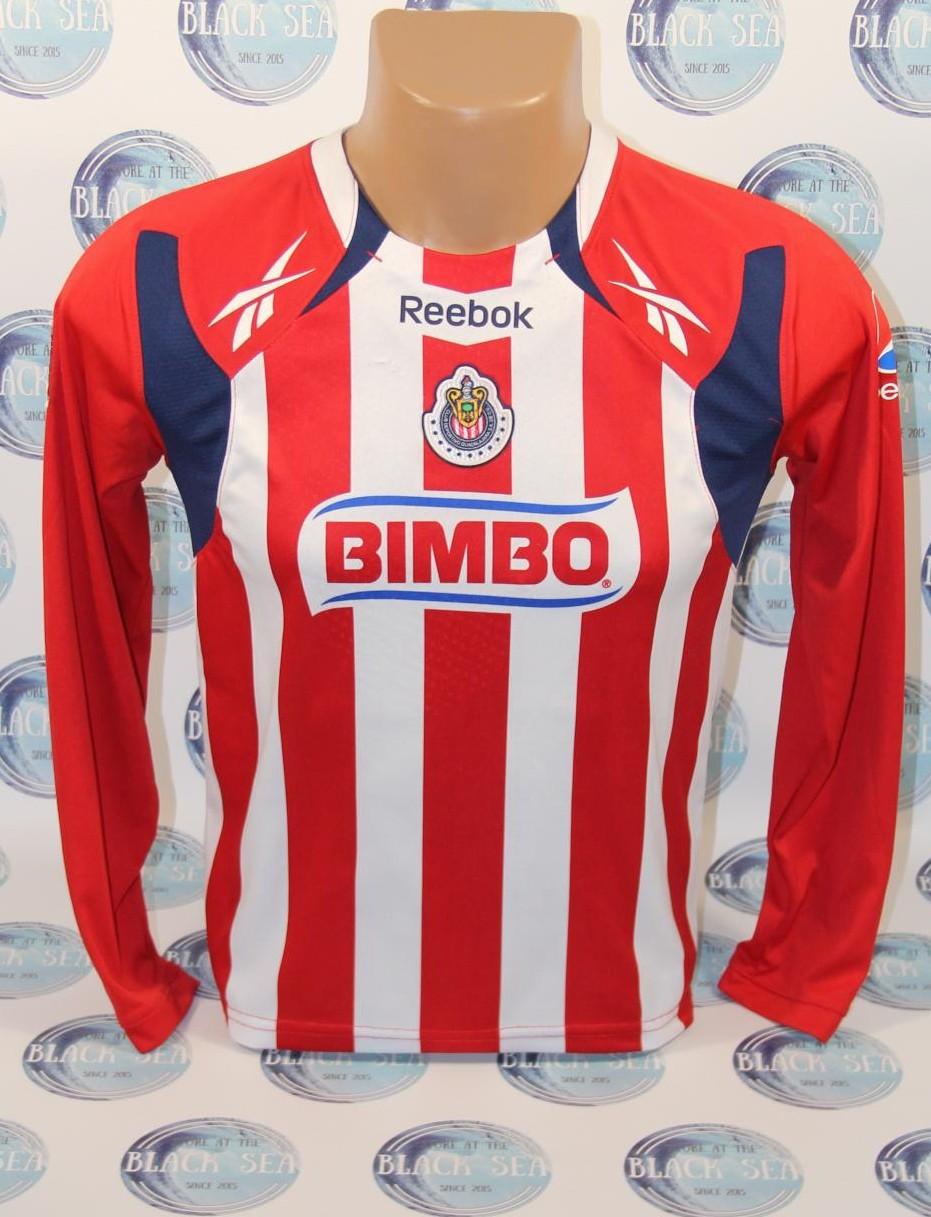 944d36b6a Chivas de Guadalajara Home חולצת כדורגל 2010 - 2011.