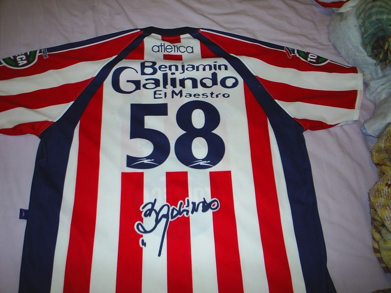 710e0d0b2 ... Chivas de Guadalajara Home camisa de futebol 2001 - 2002