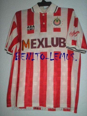 64a29d6ad Chivas de Guadalajara Home camisa de futebol 1994 - 1995.