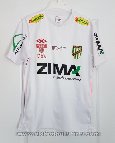 Austria Lustenau Away football shirt 2010 - 2011