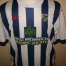 West Bromwich Albion football shirt 2002 - 2003